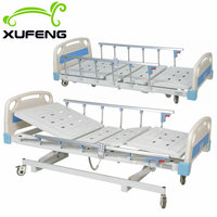 XF8341 factory price adjustable 3 functions electric hospital bed for sale