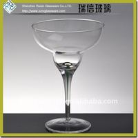 Clear Naked Classical and Graceful Margarita glass