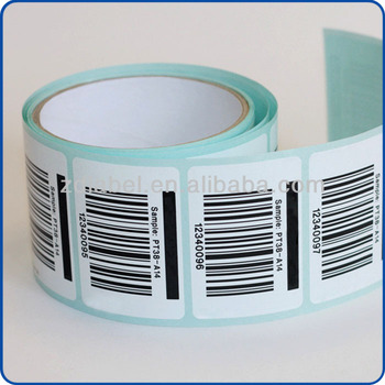 Custom label print barcode
