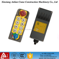 crane remote control with 8 buttons XJ series hoist wireless remote control