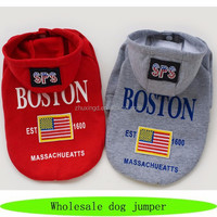 Personalized pet dog apparel, fashion autumn apparel dogs, American flag dog jumper