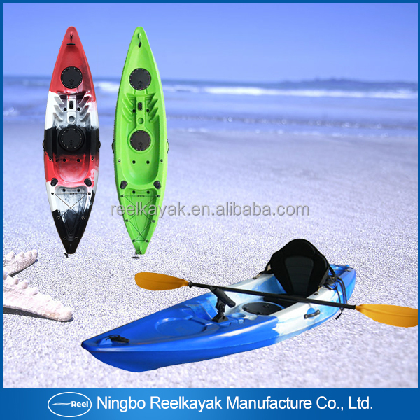 Wholesale Excellent customize varioud plastic lldpe canoe and custom no inflatable kayaks