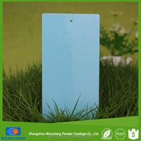 Light Blue High Gloss Spray Powder Paint