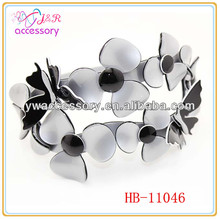 South korean style clover and butterfly shaped head band/hair band for girls