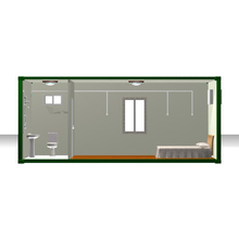 modern prefabricated container house interior design container house manufacturer