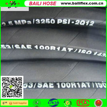 "forklift hydraulic hose sae 100 r1 at En853 1SN 1/2"" inner dia. hydrauic hose"