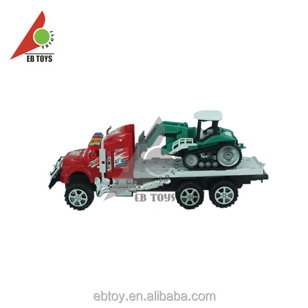Custom chinese low price indoor inertia tractors kids toys car