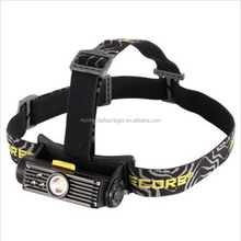 CREE XM-L2(T6) 900lm Stepless Dimming LED Headlamp (1x18650/2xCR123)