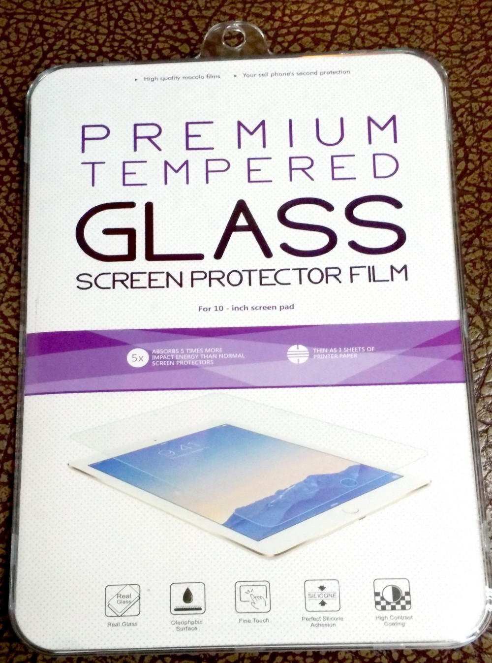 9H Premium Tempered Glass Screen Protector For Lenovo A3300 7''