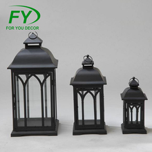 ML-833 One Size Indoor And Outdoor Galvanized Party Metal Lantern