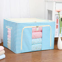 Waterproof under bed cardboard organizer box toy CD DVD file book clothes decorative storage boxes with lids
