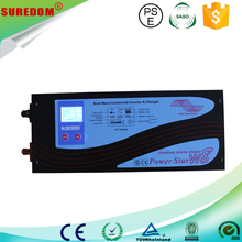 Off grid low frequency DC AC charger home solar system project 3000w pure sine wave with ups inverter