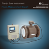 Remote Display Electromagnetic Flow Meter Measure