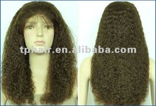 26 inch authentic and high quality Italian kinky curly lace wigs