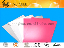 white and red pvc sheet