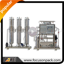 Underground Water Filter Water Treatment Process Reverse Osmosis Filter