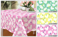 Professional design Plastic Elegant Table cover