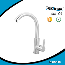 Stainless steel kitchen cabinet or bathroom faucet