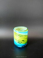 2015 NEW/colored/painting/handmade water glass