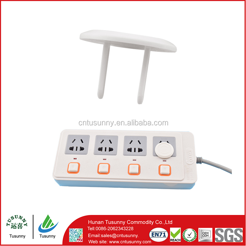 child safety plastic plug electrical standard plastic eco friendly electrical wall outlet cover