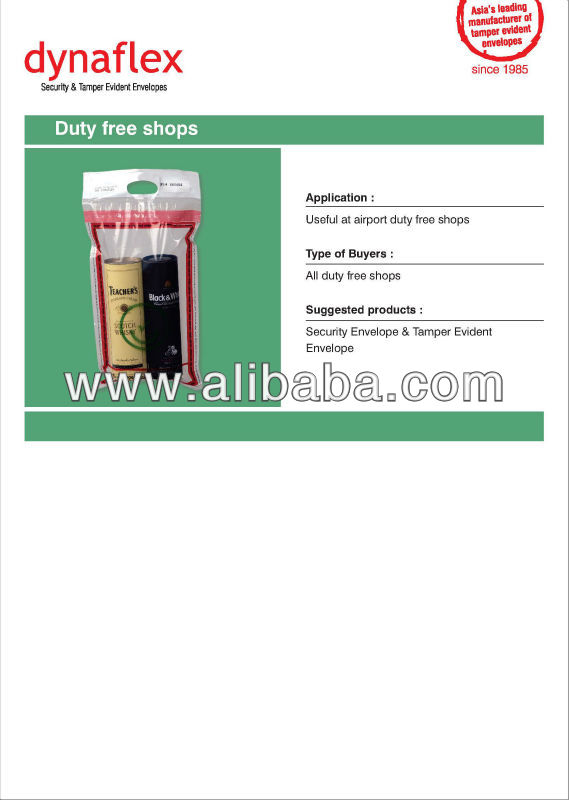 Security Tamper Evident Bag (STEB)