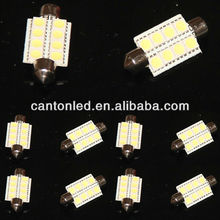 Festoon 38mm 39mm 40mm Dome 8 5050 LED Car Panel Light 12V Bulb