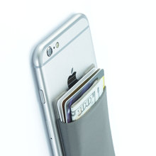 Factory wholesale directly retractable cell phone back card pocket holder