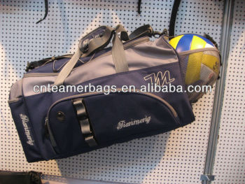 pro sports barcelona soccer bag with ball holder