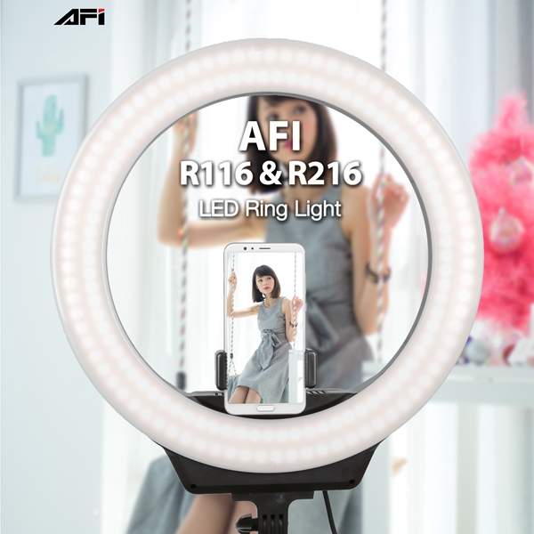 AFI new released 18'' photogrpahy makeup ring light