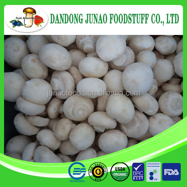 iqf frozen cultivated champignon button mushroom spawn
