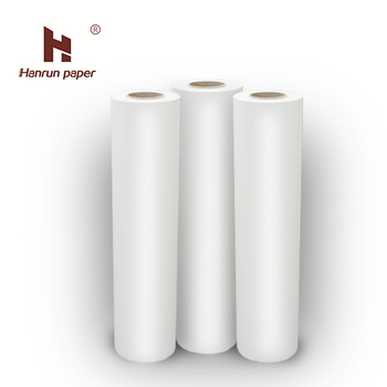 Fast Dry 60gsm,90gsm, 100gsm sublimation transfer paper Supplier/mini jumbo roll for large format Digital printer.