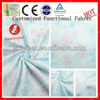 Customized Functional Soft indonesia cotton printed fabric