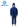 Workplace safety supplies clear plastic coverall