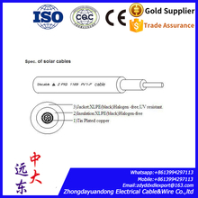 halogen-free solar battery cable solar kabel for wiring solar panels
