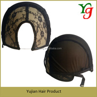 Buy Wholesale high quality stretch adjustable U part wig cap in ...