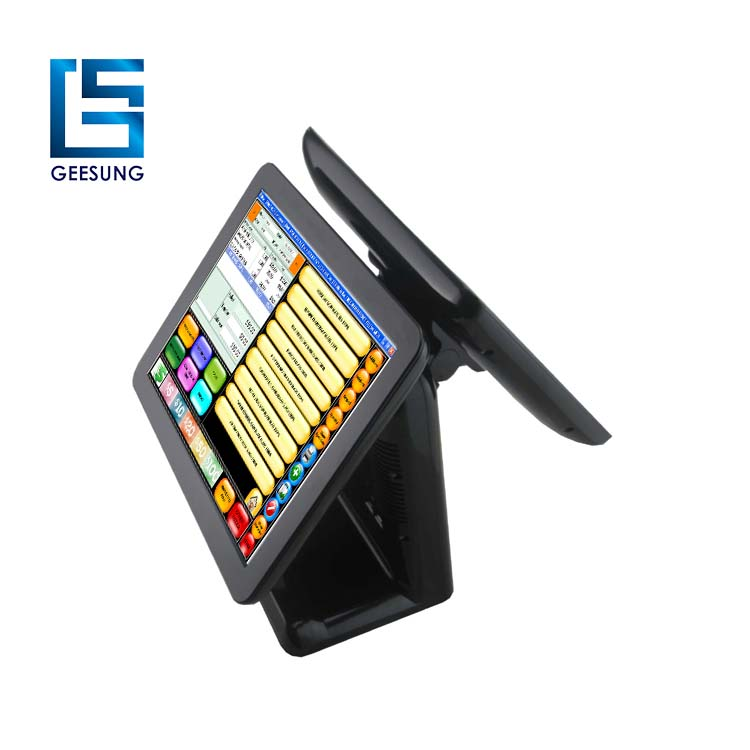 Capacitive touch Dual screen Pos system for For Your Grocery or Market