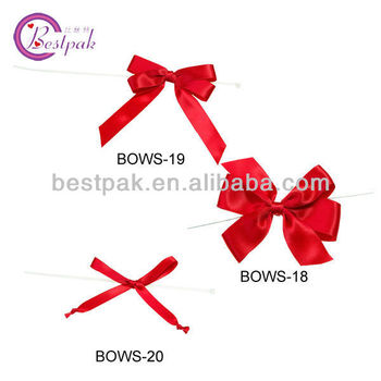 hot sale chic red mini ribbon bows