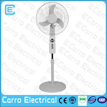 2014 CE-12V16C2 16 inch 12v battery rechargeable fan /parts electric stand fan with timer