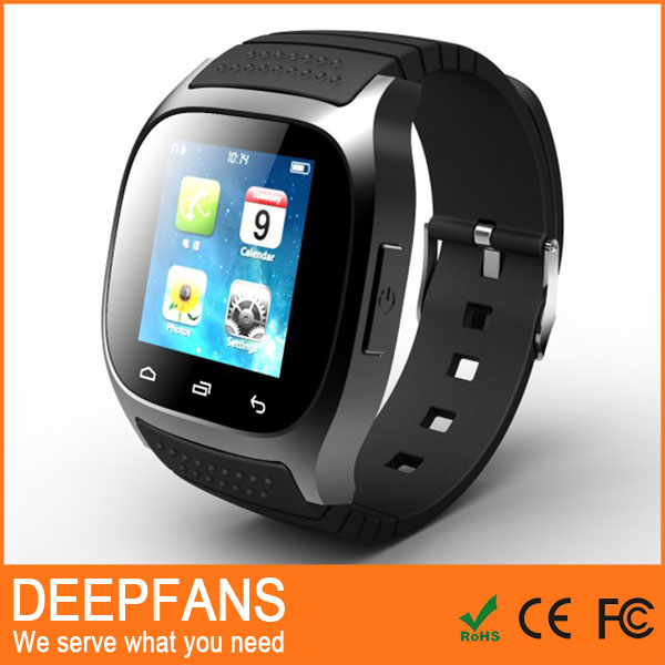 2015 portable wrist watch u8 m26 bluetooth unique smart wrist watch cell phone