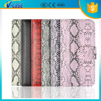 2015 hot selling snake skin pu leather case for iPhone 4S/5S/6S/6Plus and for Samsung S4/S5/S6/S6/S6 EDGE