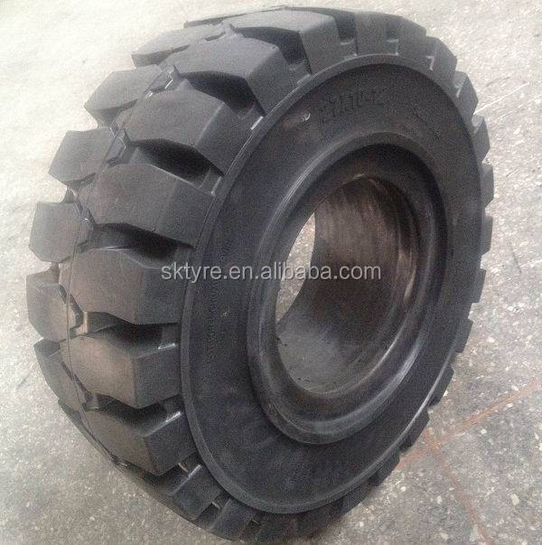 High quality Industrial Solid forklift tire 27x10-12