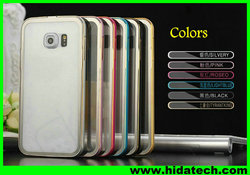 Wholesale metal phone case for samsung galaxy S6 edge cover case for samsung s6 edge