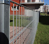 Double Gate 656 Security Powder Coated Double Wire Fencing