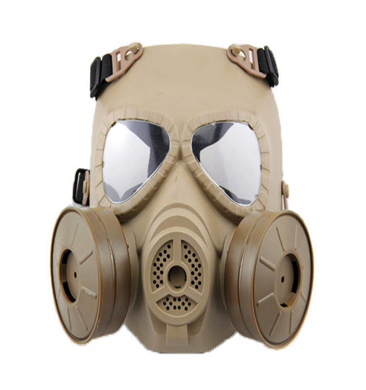 Military tactical police paintball types of gas mask helmet