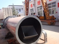 Low consumption high capacity rotary dryer widely used for drying slag, clay, limestone, coal,metal gold mine,