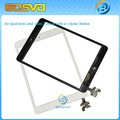 Touch screen digitizer glass lcd panel +home button with ic connector for ipad mini or mini 2