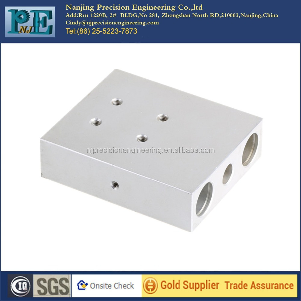 OEM services high quality cnc milling machine aluminium body parts