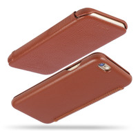 Luxury leather case for iphone 6s with flip cover