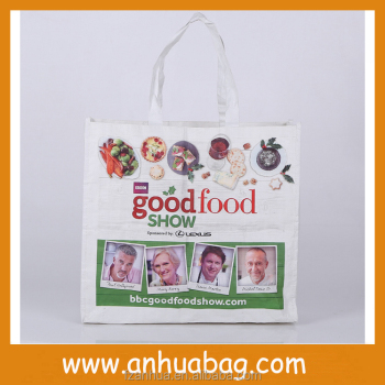 Promotional Reusable bag pp woven material