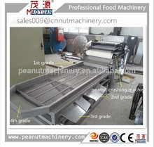 reliable quiality peanut/almond/cashew nut crushing machine with 4 grade sieving device